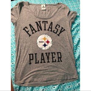 Victoria Secret Pink Pittsburgh Steelers t-shirt